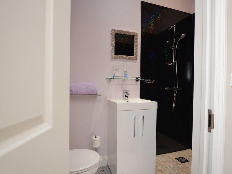 Poppy Room en-suite shower room