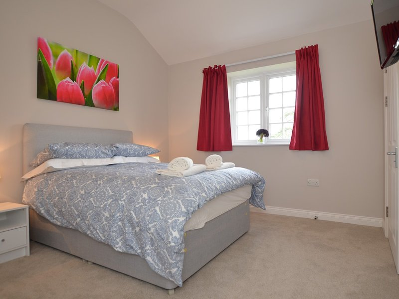 The Tulip Room with double bed