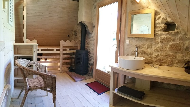 chambre nature, holiday rental in Marmagne