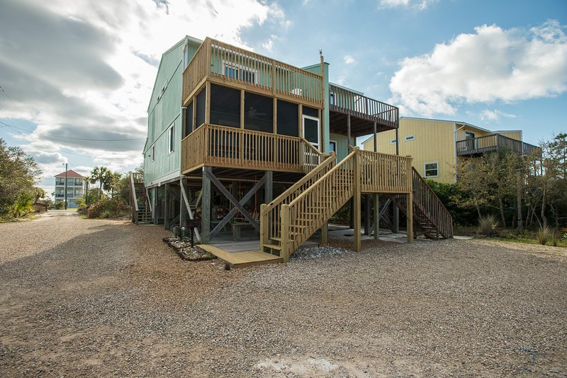 APRIL/MAY DATES WIDE OPEN!  125 Feet To Beach, Great Rental/Review, alquiler de vacaciones en Cape San Blas