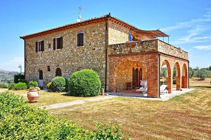 Montauto Apartment Sleeps 4 with Pool and WiFi - 5241669, aluguéis de temporada em Montecchio