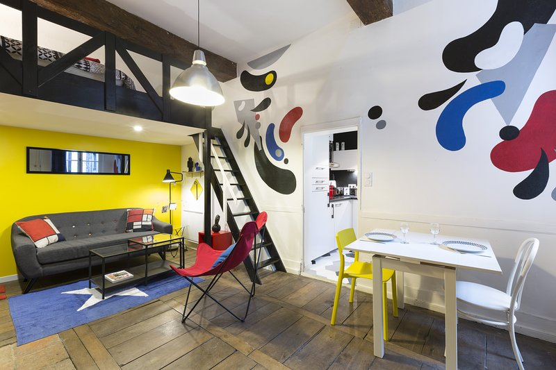 ARTY - Cosy 30m2 tout confort plein centre, holiday rental in Rennes