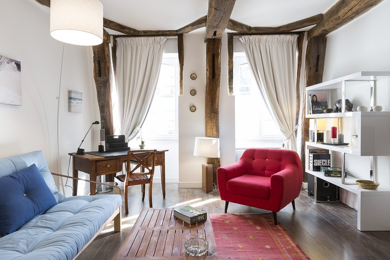 Joffre, superbe cocon de 58m2 en centre-ville de Rennes, holiday rental in Chantepie