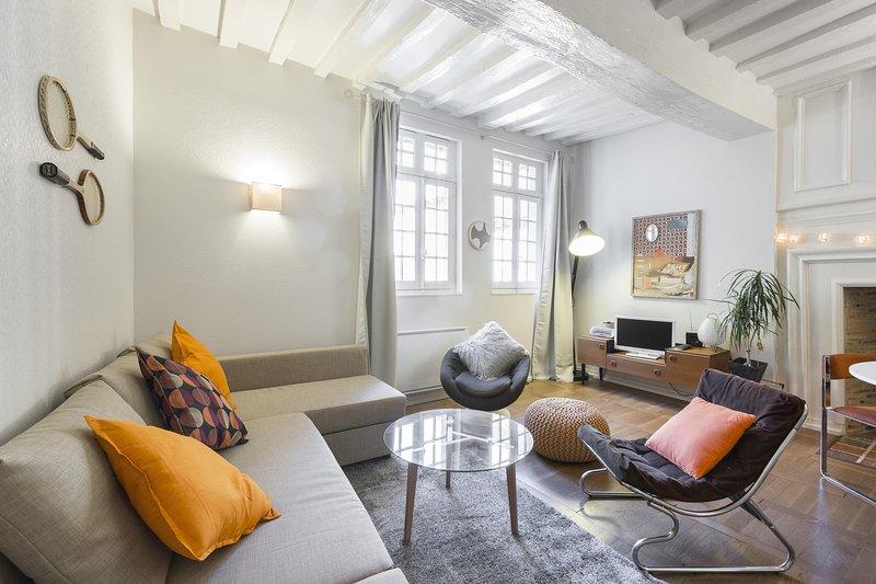 Vintage - Joli cocon dans le centre historique, holiday rental in Rennes