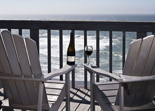Private Deck seating