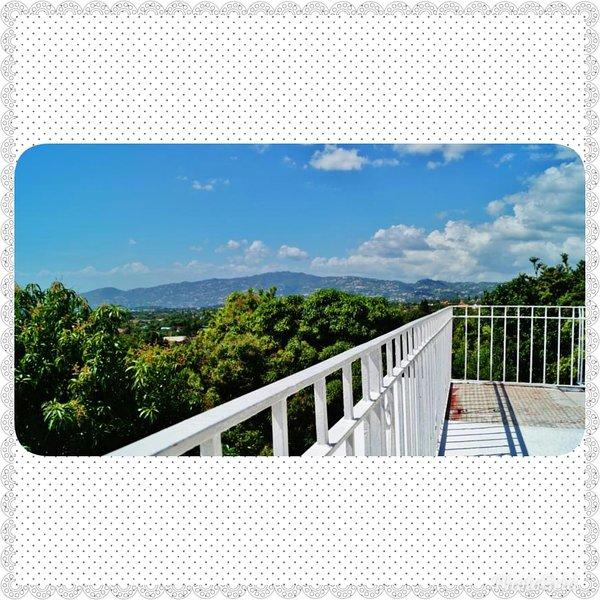Terrasse sur le toit pour profiter de la vue magnifique