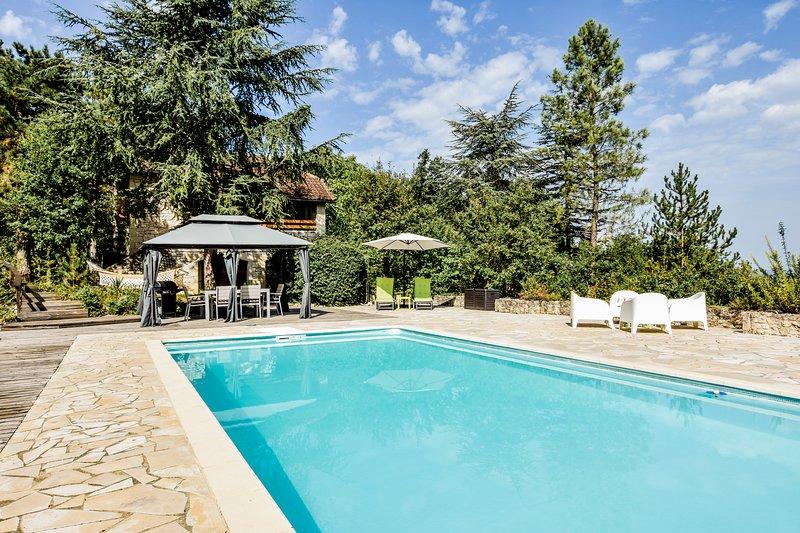 Domaine du Lézard, luxe vakantiehuis met privézwembad, holiday rental in Albas