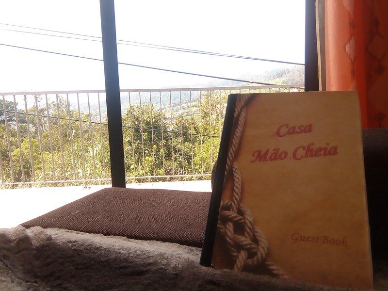 Casa Mao Cheia , views over sea and mountains, alquiler de vacaciones en Arco da Calheta