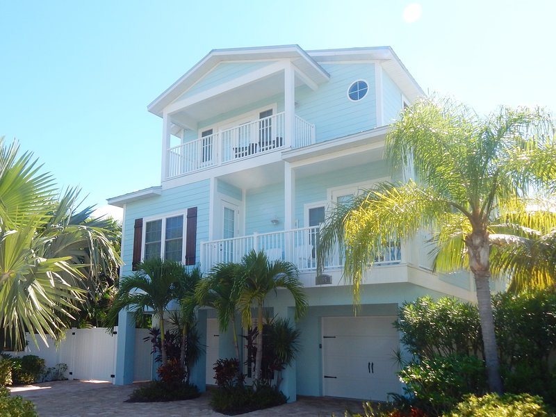 Two decks on the front of the house, plenty of parking, fully gated backyard