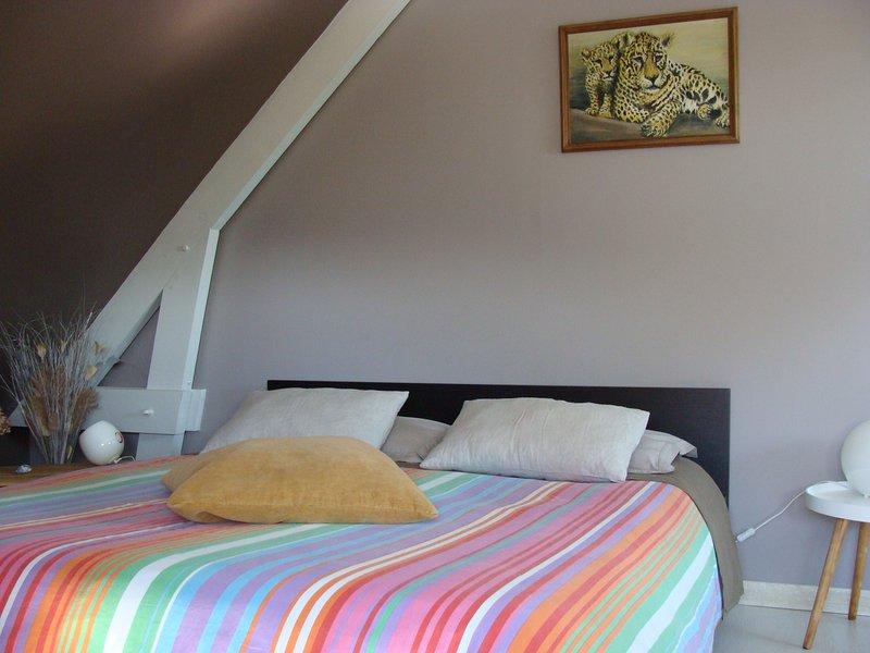 Master Suite com Banheira (sem jacuzzi) A sala Mole. La Forge Vimbert 13 kms de Etretat