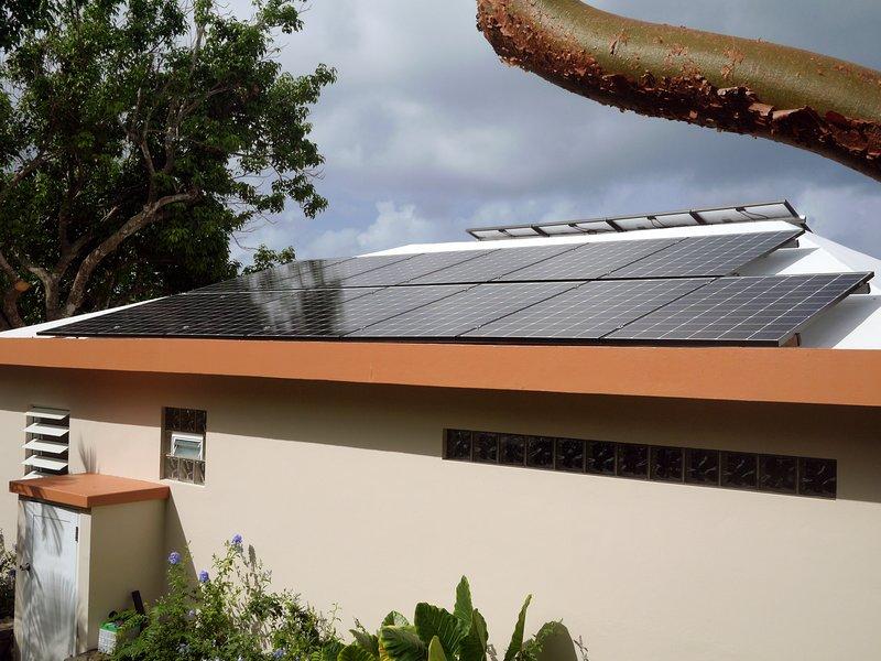 Primavera 2018 - exclusivamente con energía solar - nuestro retiro respetuoso del medio ambiente le da la bienvenida!