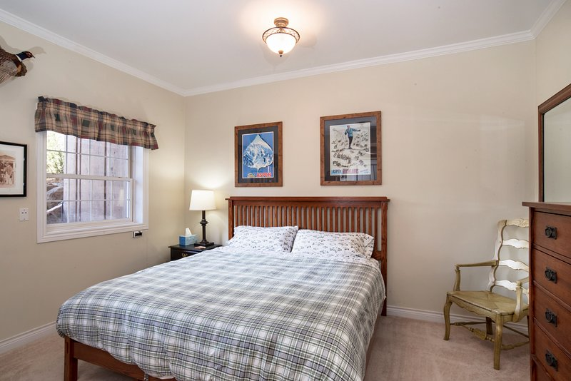 Guest bedroom on lower level