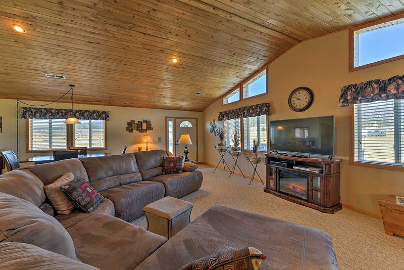 Escape to the Rockies with this spacious Buena Vista vacation rental home.