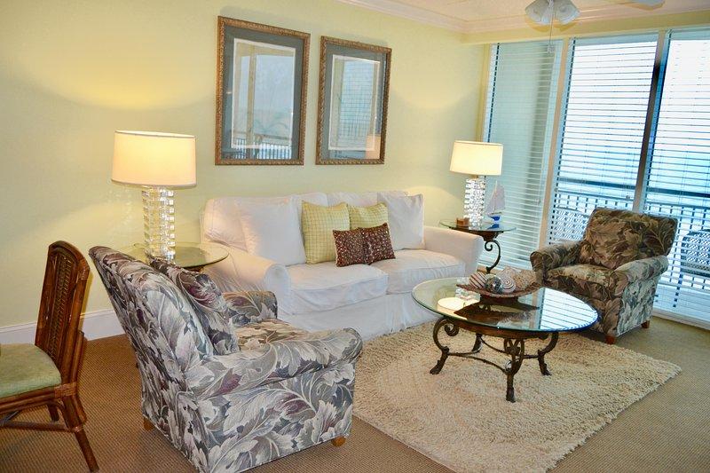 Nuevo mobiliario en la sala de estar