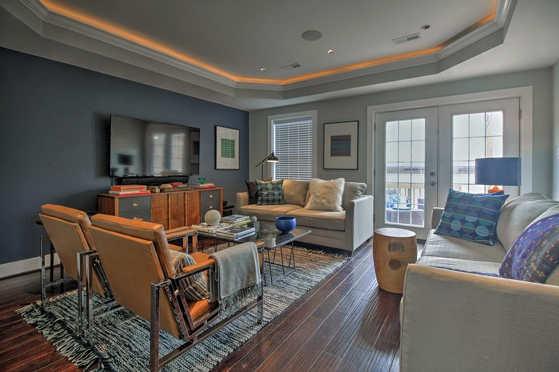 Unwind in this 3-bedroom, 2.5-bath vacation rental townhome in Washington D.C.
