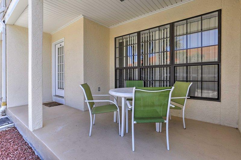 Met bedden voor 6 en een eigen terras, dit appartement is ideaal voor gezinnen.