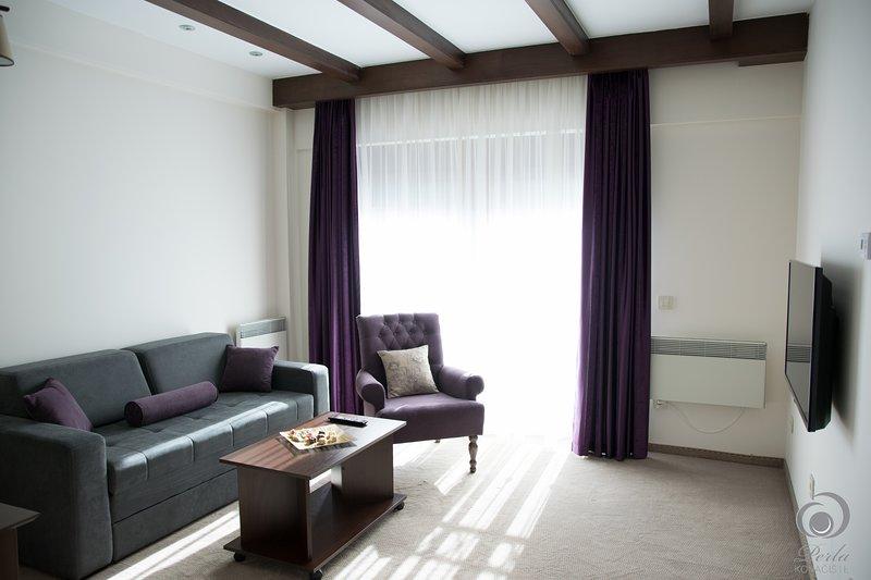 apartamento Fourbed, sala de estar