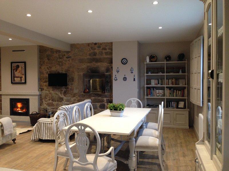 Casa con jardín en Pontevedra (Galicia) Casa de Alicia,  WIFFI gratis, vacation rental in Ricovanca