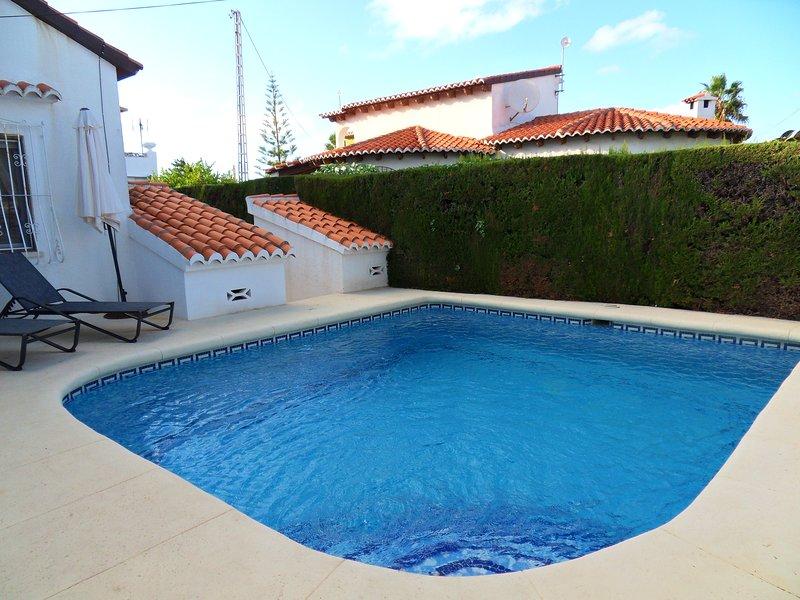 Villa ALMAR en Els Poblets a 300 m de la playa, Ferienwohnung in El Verger
