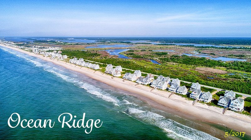 Ocean Ridge from the air (Pre-hurricane)