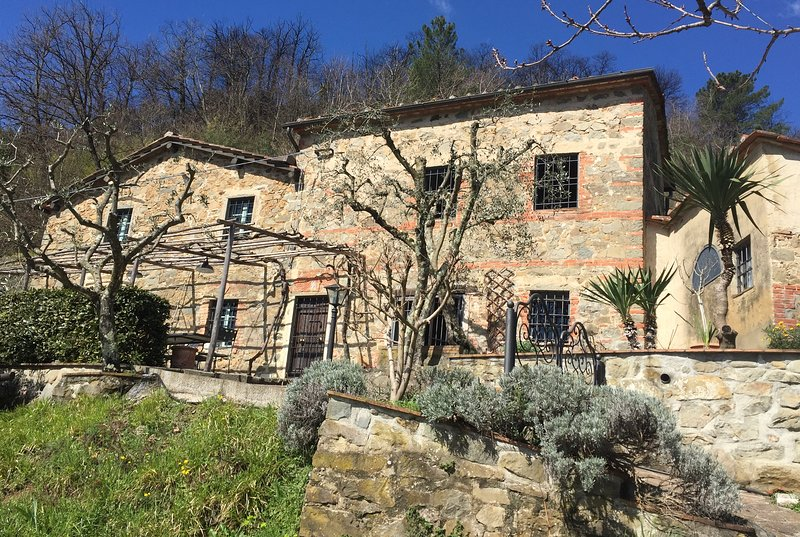La Querce: Idyllic hillside farmhouse, location de vacances à Pietrabuona