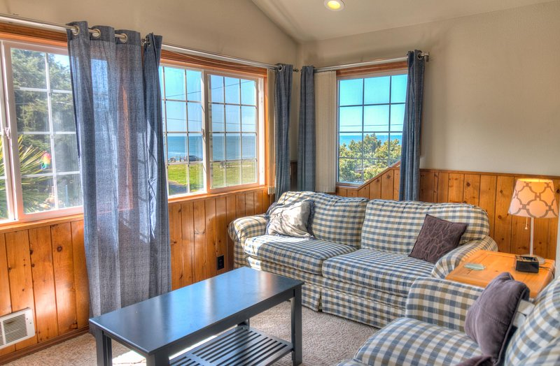 Relax upstairs and enjoy the views!