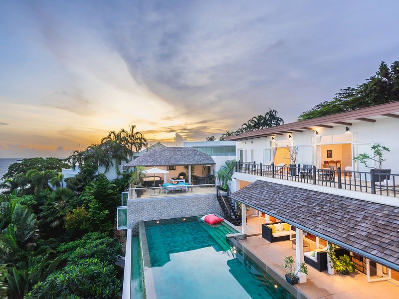 Katamanda - Villa Amanzi, 6BR, Kata, vacation rental in Karon