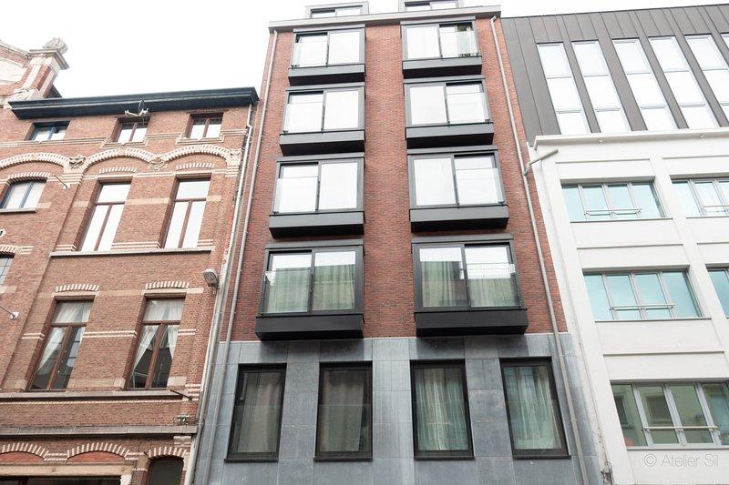 Exterior View of Antwerp rental apartment