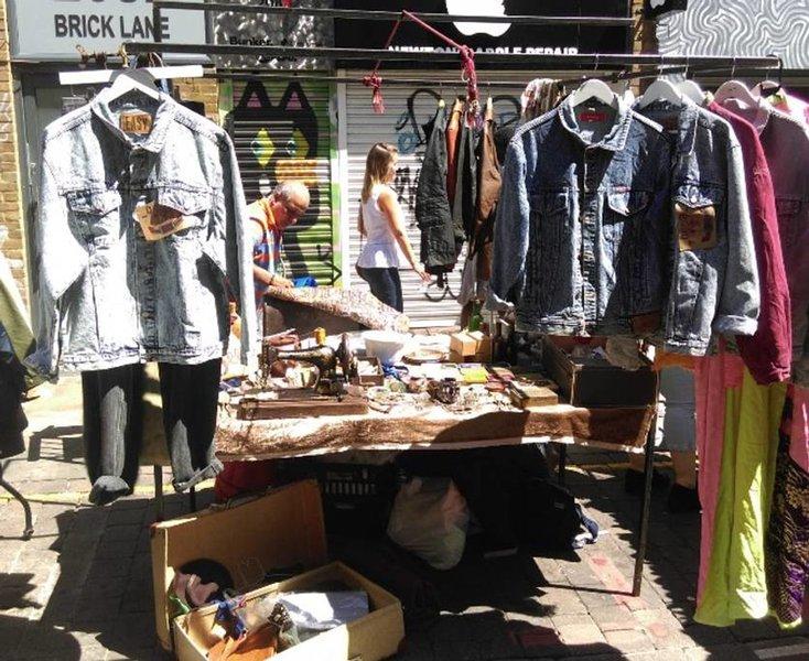 Explore the vibrant Brick Lane Market