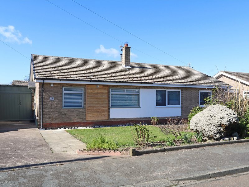 Single storey property with driveway