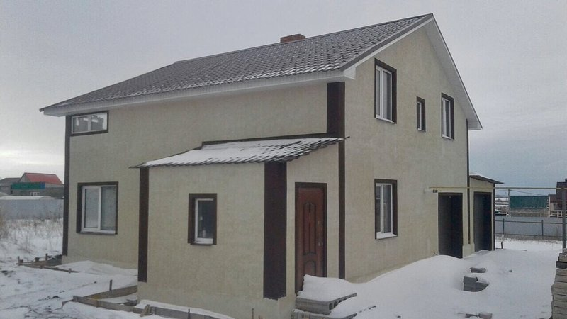 Two-level guest house 250 sq.m. 7km from Samara, location de vacances à District de Volga