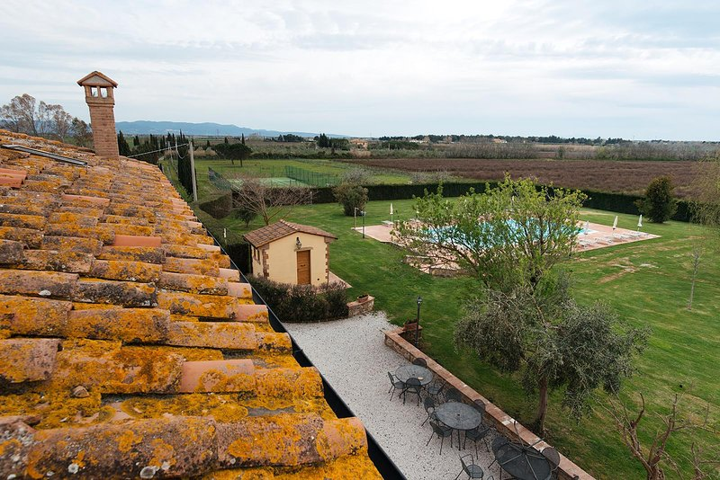 Villa Aia Vecchia (Apartment 9), vacation rental in Bibbona