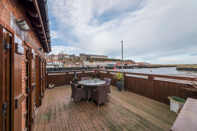 Decking with the best views in Whitby