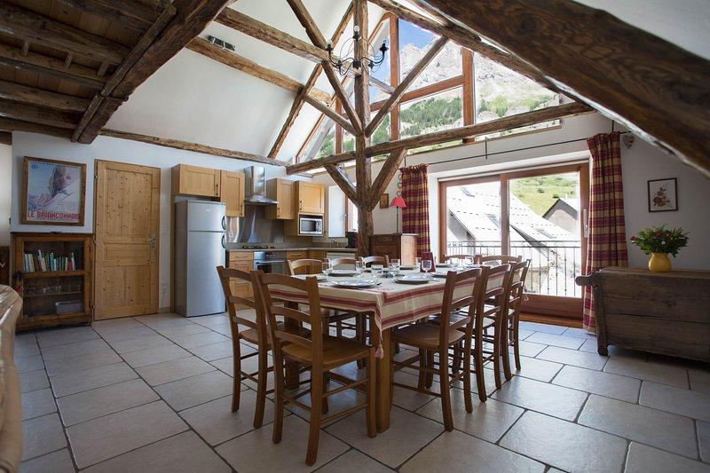 Maison 4 chambres 10 personnes Serre Chevalier 1500, location de vacances à Le Monetier-les-Bains