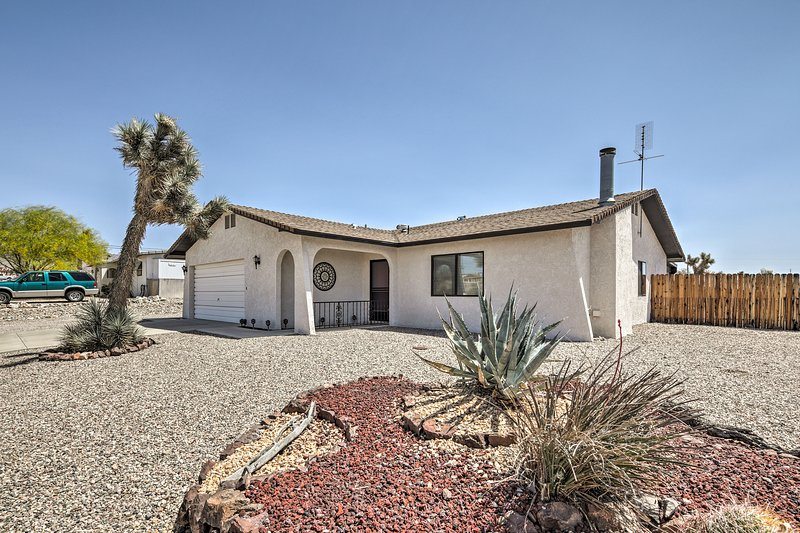 This quiet 2-bedroom, 2-bath house rests just 1 mile from local amenities.