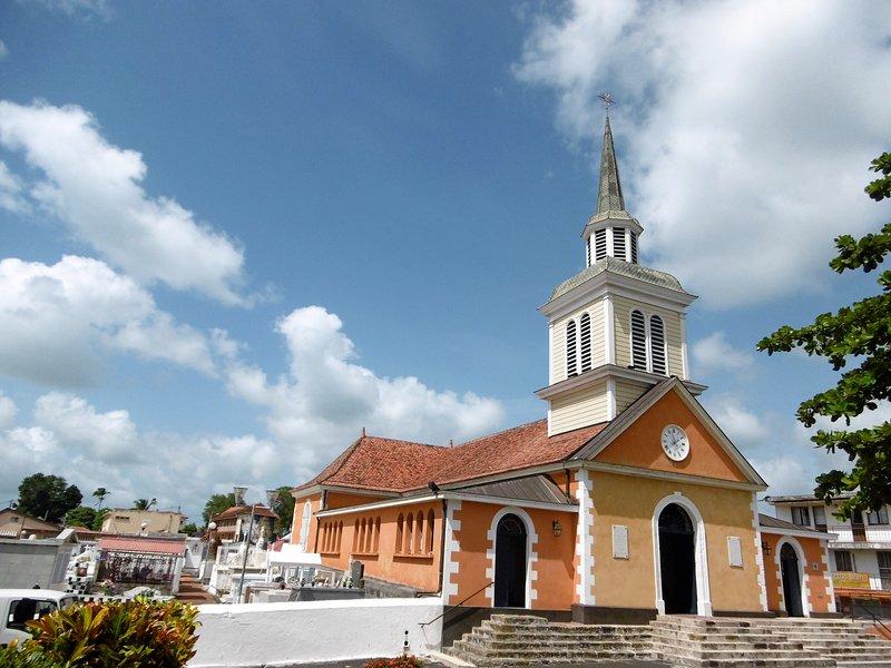 the town of Trois-Ilets