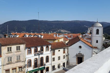 Pretty Penacova - great views from the top of the hill!
