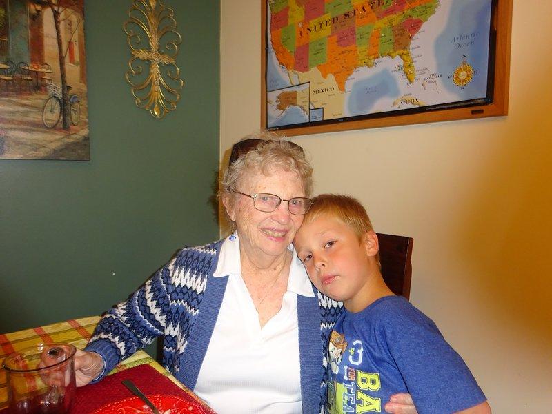 Barbara, 90 y.old, es nuestro invitado a largo plazo ;-)