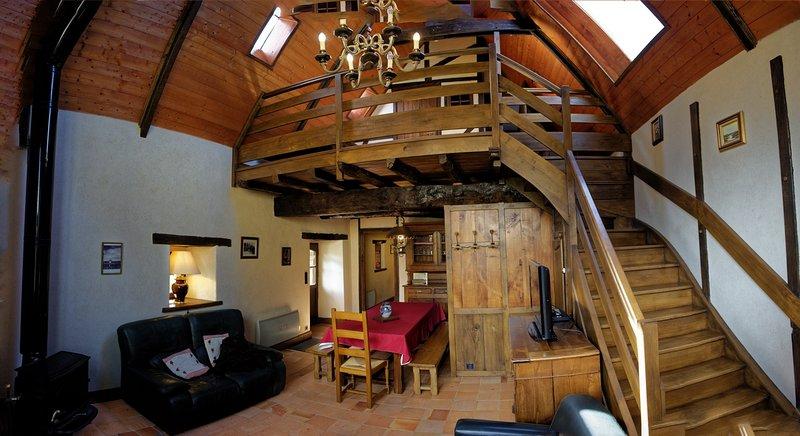 Gite 'au vieux moulin' Bretagne Finistère sud 4 personnes in Clohars-Carnoet, holiday rental in Doelan