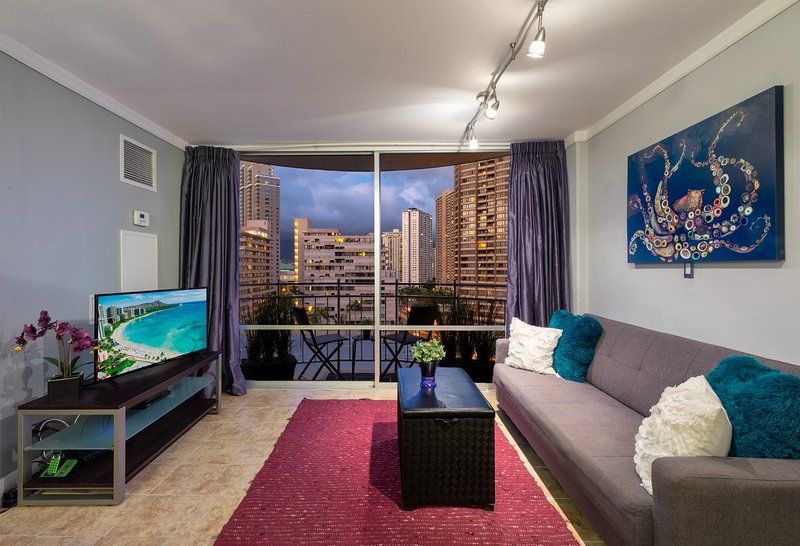 Aloha and welcome to 'Purple Paradise' Luxury Condo by 'You Found Paradise'