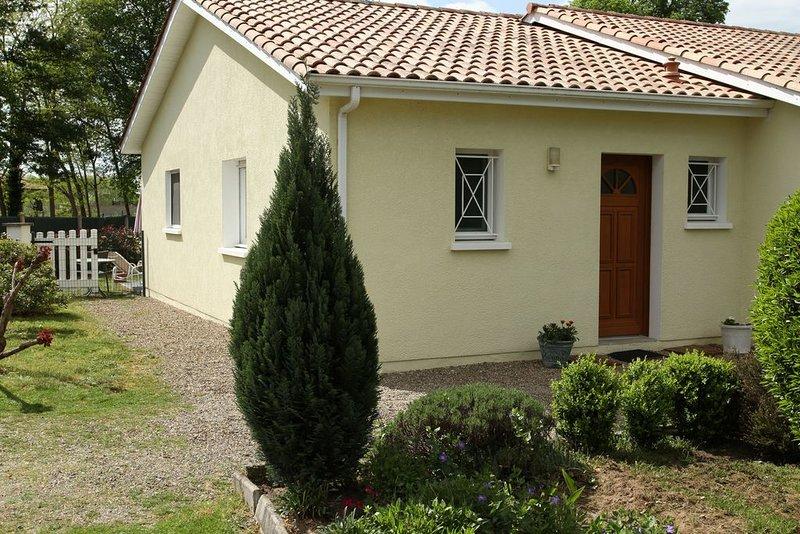 Meublé de tourisme classé 3 étoiles de 49 m², holiday rental in Hinx