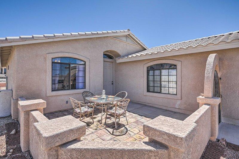 La vostra oasi nel deserto attende in questo casa per le vacanze!