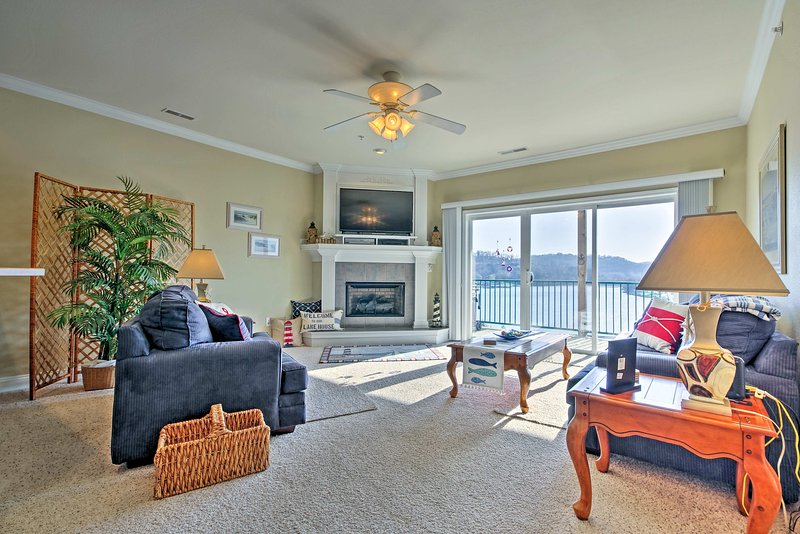 Your Lake of the Ozarks getaway awaits at this Camdenton vacation rental condo!