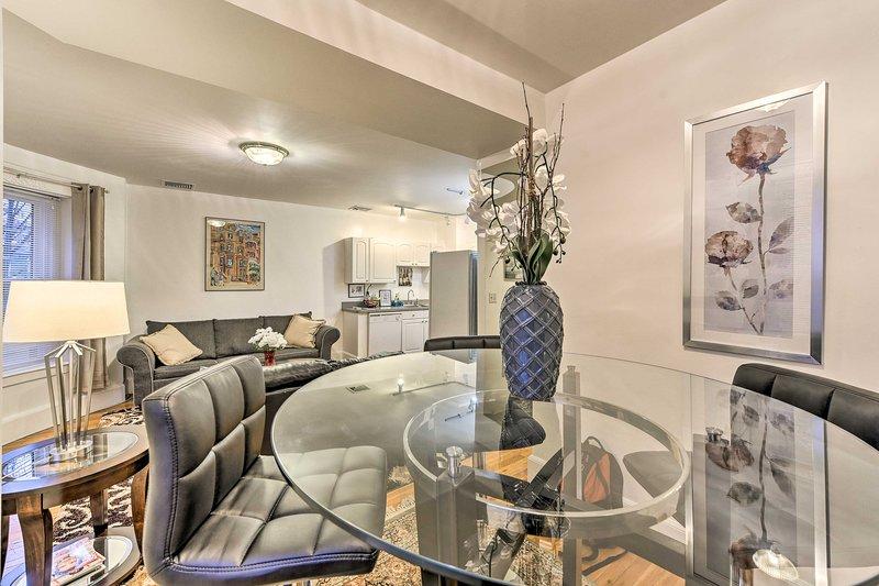 Situado en Brookline, este apartamento es perfecto para grupos de 6 viajeros.
