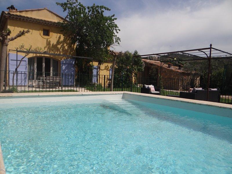 villa dans 1er village bio