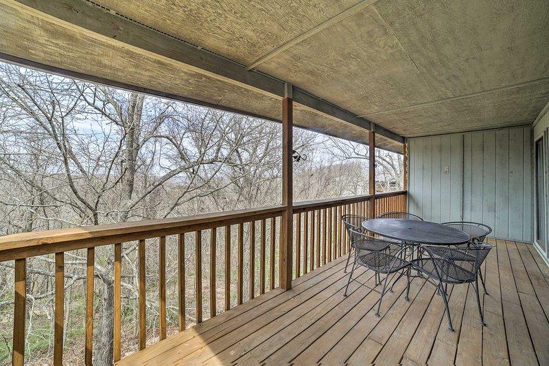 Con un piso de la cubierta, vistas y camas para 6 personas, esta casa es verdaderamente un 5 estrellas.