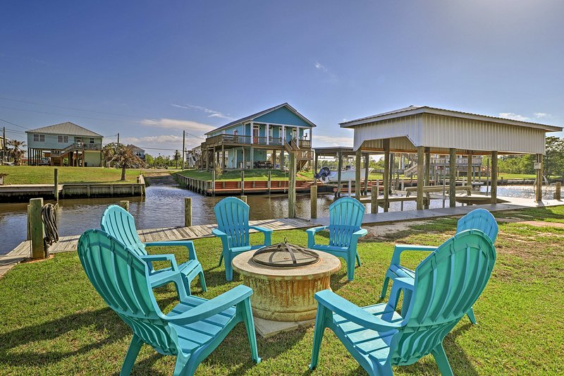 Waterfront Bay St. Louis River House W/ Dock! Has Central