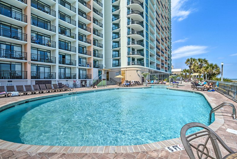 You'll have your pick of what pool to lounge by!