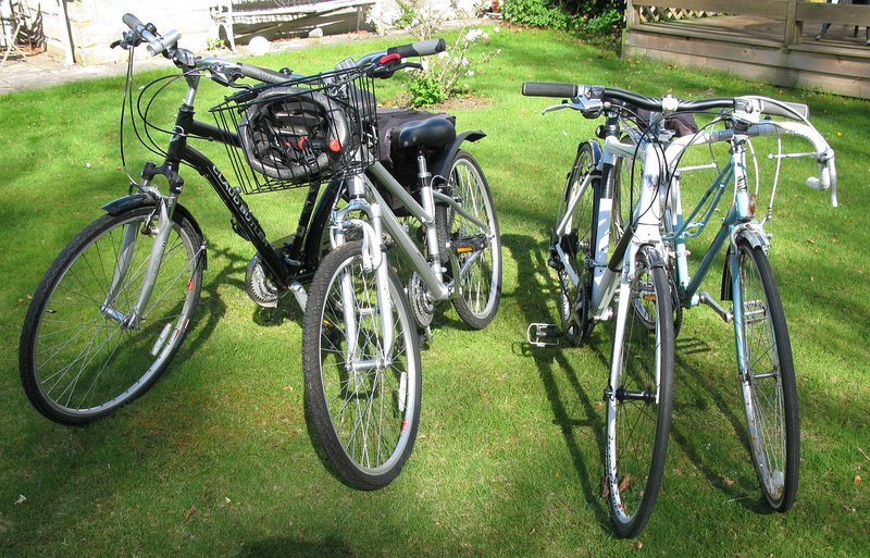 Feeling energetic....how about a bike ride around Nairn