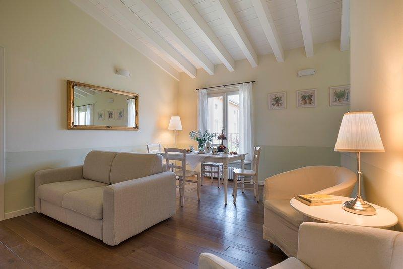 L. Garda: fabulous two rooms apt ancient mansion, location de vacances à Prevalle